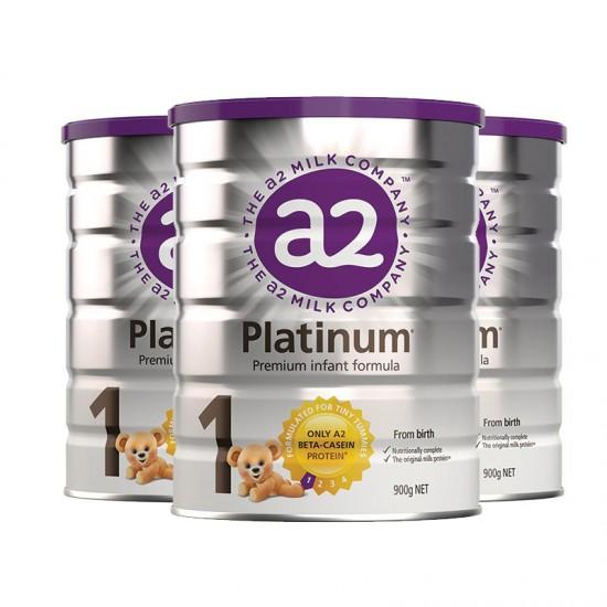【A2】A2金装奶粉1段3罐(澳洲直邮)保质期:02/2021
