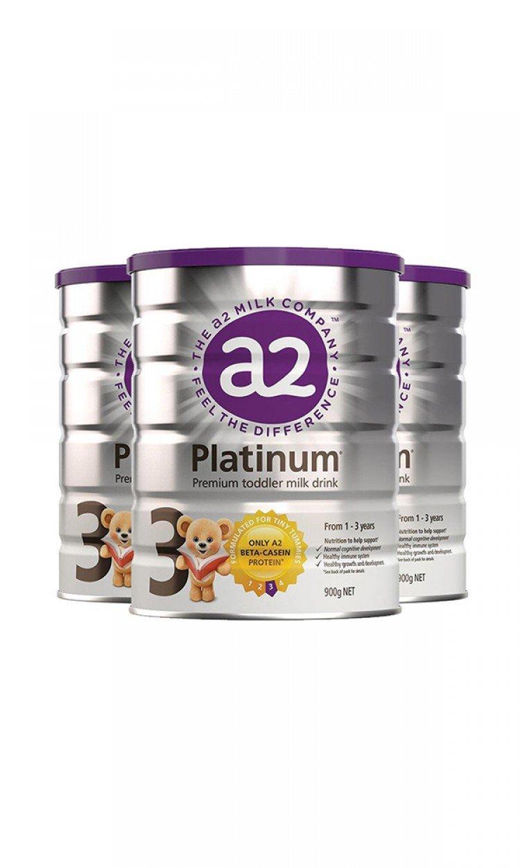 【A2】A3金装奶粉3段3罐(澳洲直邮)保质期:12/2021