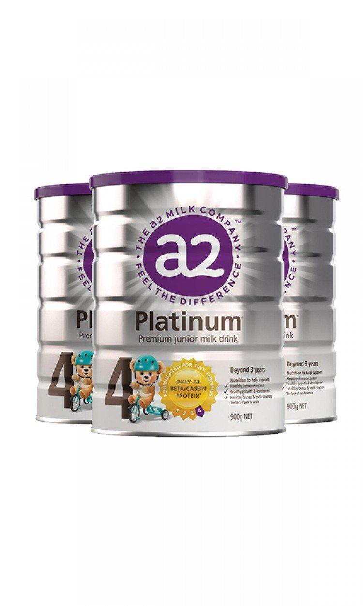 【A2】A4金装奶粉4段3罐(澳洲直邮)保质期:12/2021
