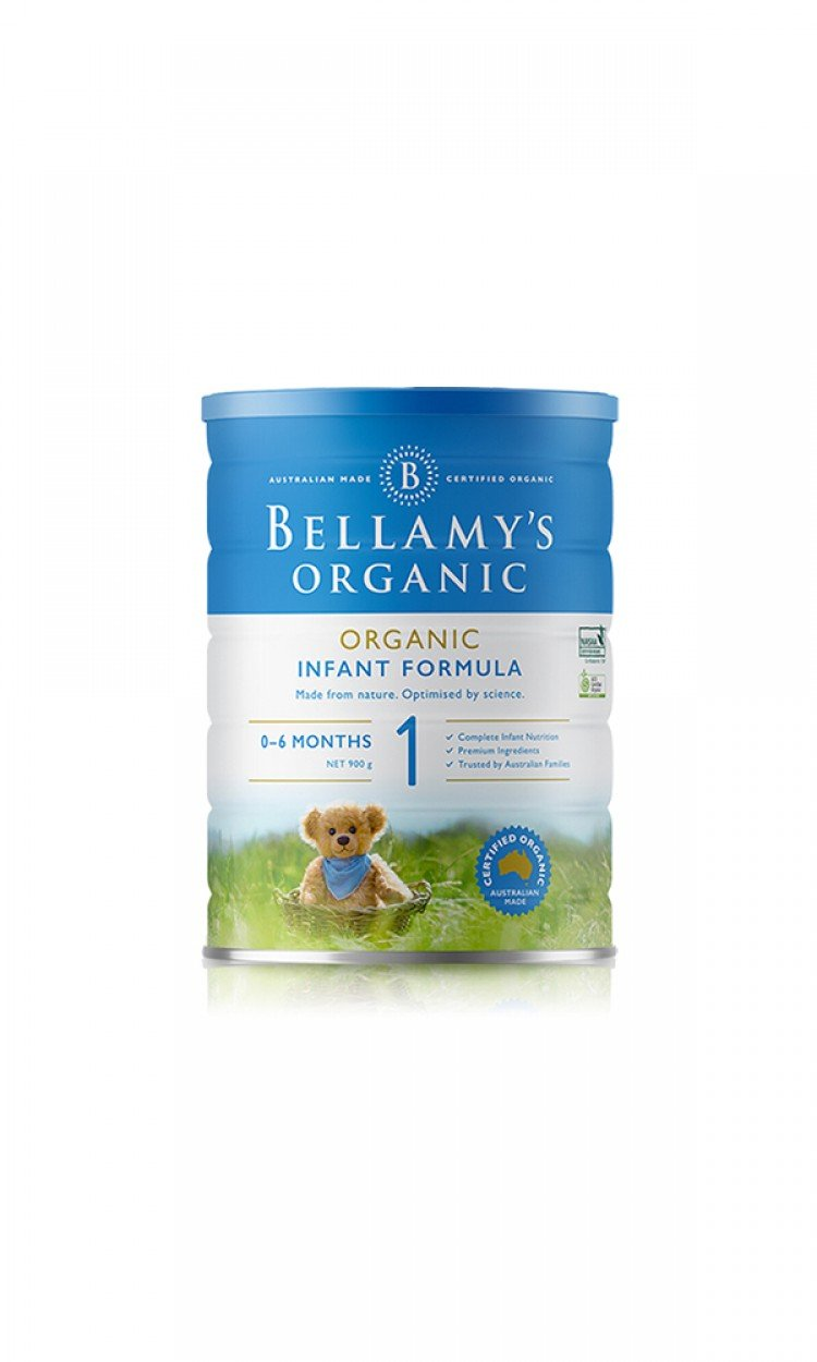 【BELLAMYS】B1贝拉米奶粉1段3罐(澳洲直邮)保质期:12/2021