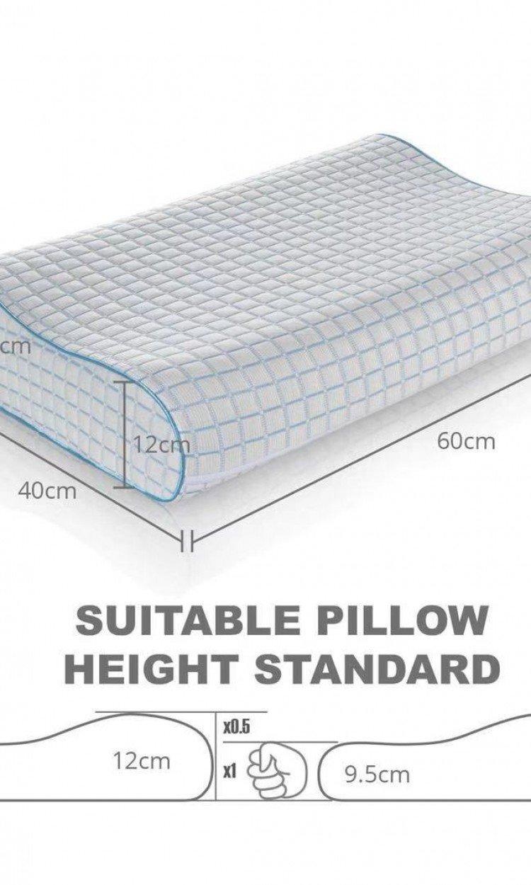 【MEWE】Memory Foam Contour Pillow颈椎康复辅助支撑云感枕(澳洲直邮)