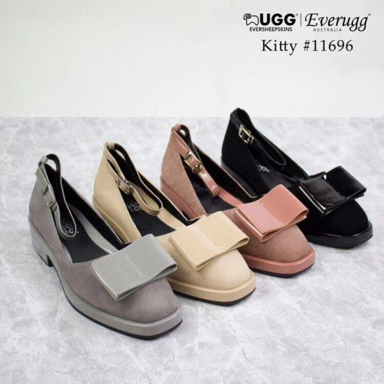 【清仓款】【EVER】11696蝴蝶结系带单鞋(澳洲直邮)