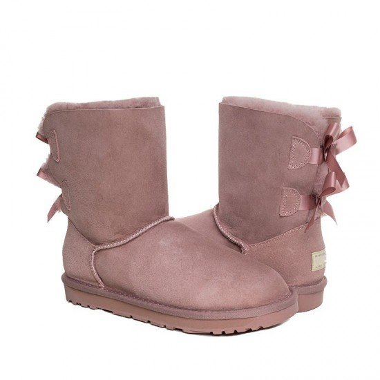 【OZWEAR】OB364N双蝴蝶结雪地靴(澳洲直邮)